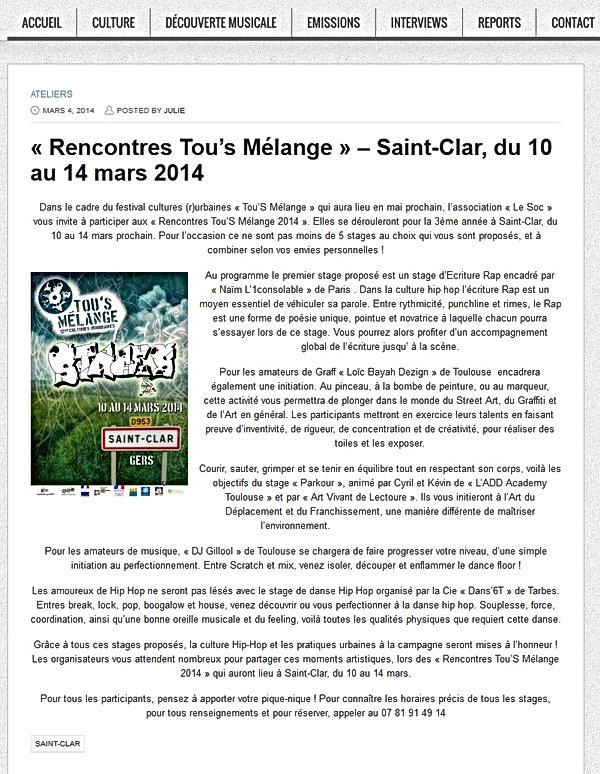 Stage ADD Academy Toulouse, saint clar, art du déplacement, parkour, sport, yamakasi