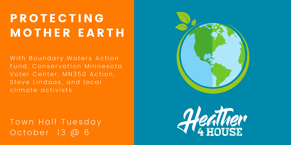Town Hall Tuesday: Protecting Mother Earth