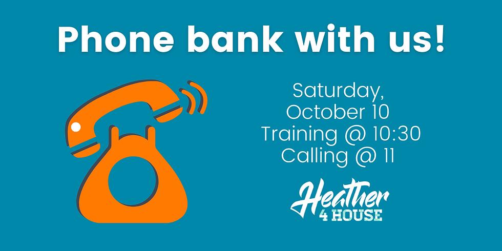 Phone Bank Saturday: October 10