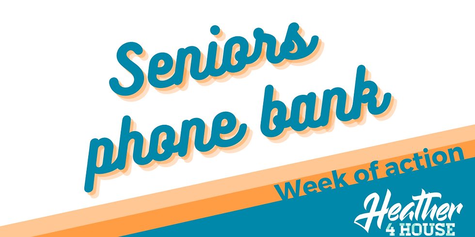 Seniors phone bank