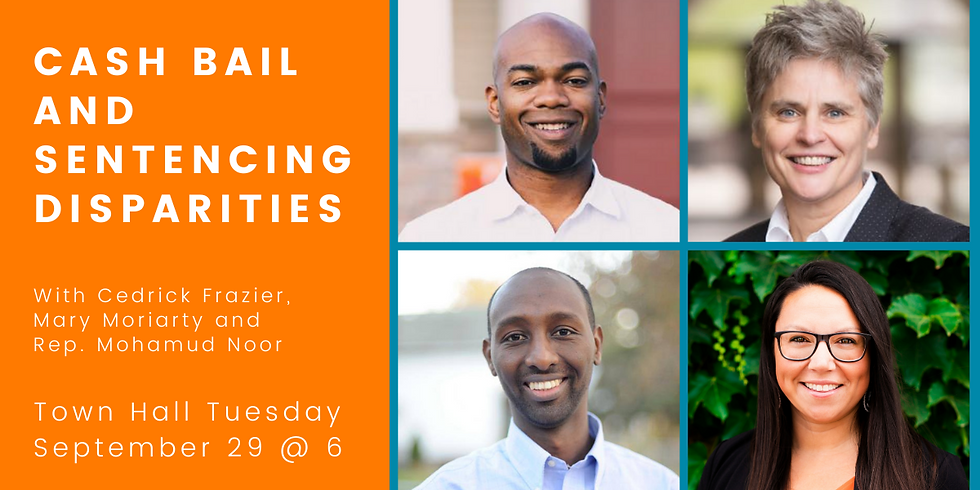 Town Hall Tuesday: Cash bail and sentencing dispareties