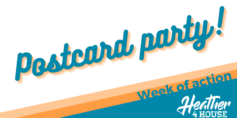Week of action: Postcard party!