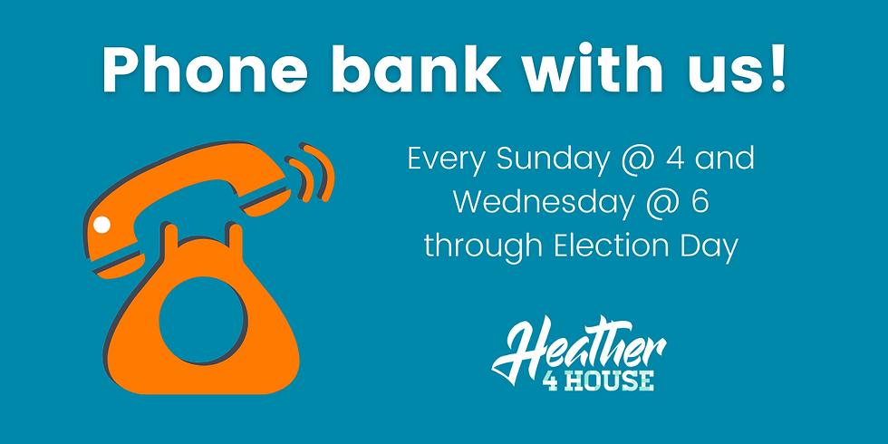 Phone Bank Wednesdays: September 2
