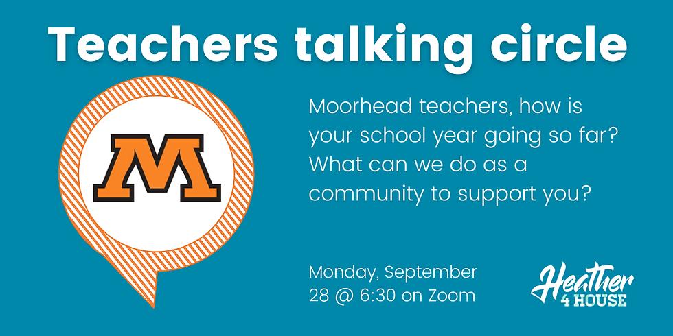 Moorhead Teachers Talking Circle