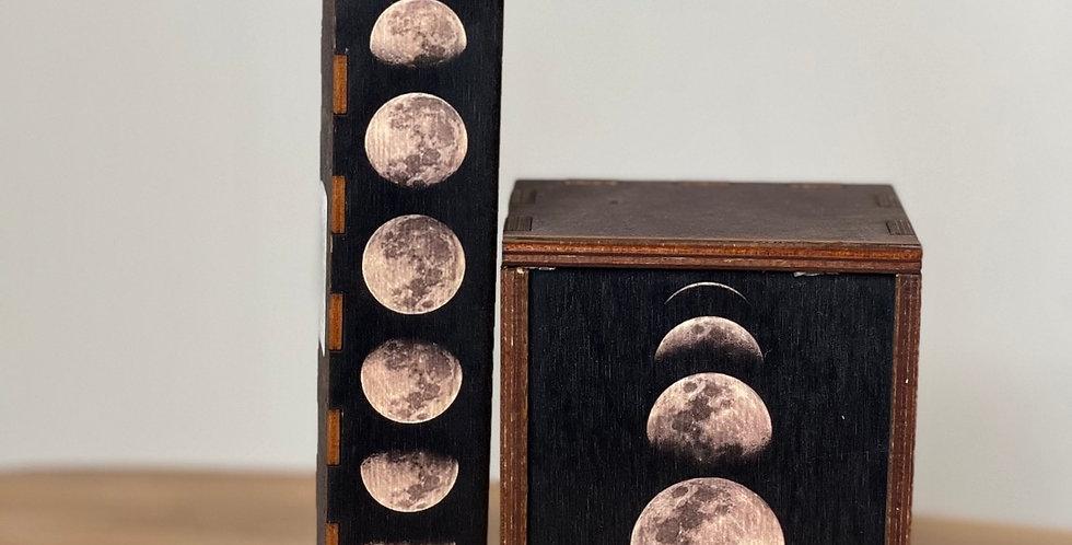 Moon set wood