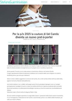 P/E 2015 la couture di Uel Camilo