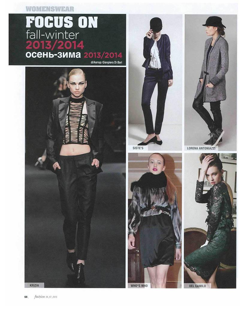 UEL CAMILO @Fashion speciale Russia