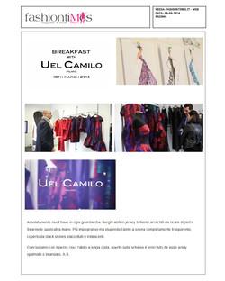 BREAKFAST WITH UEL CAMILO