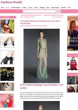 UEL CAMILO @FashionWorld
