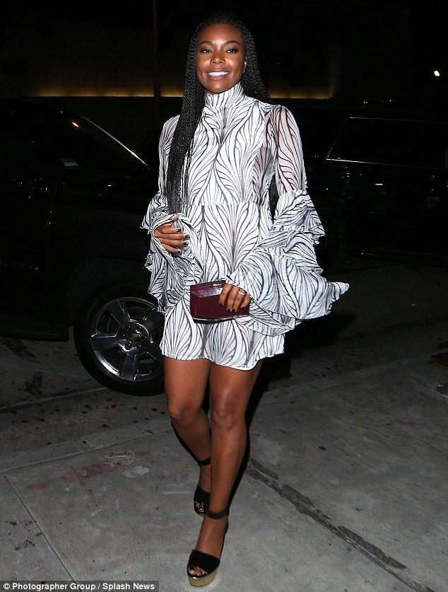 GABRIELLE UNION in UEL CAMILO