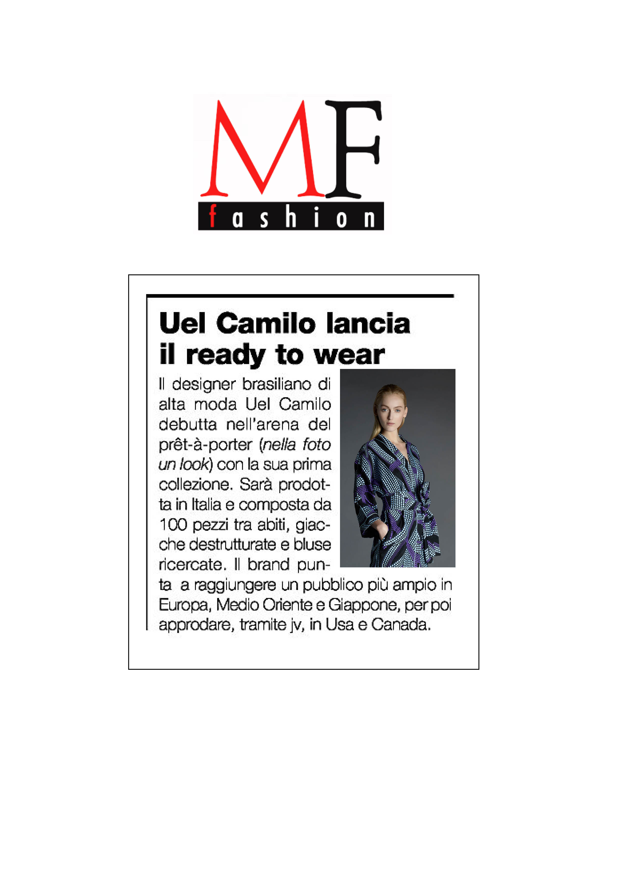 UEL CAMILO @MF FASHION