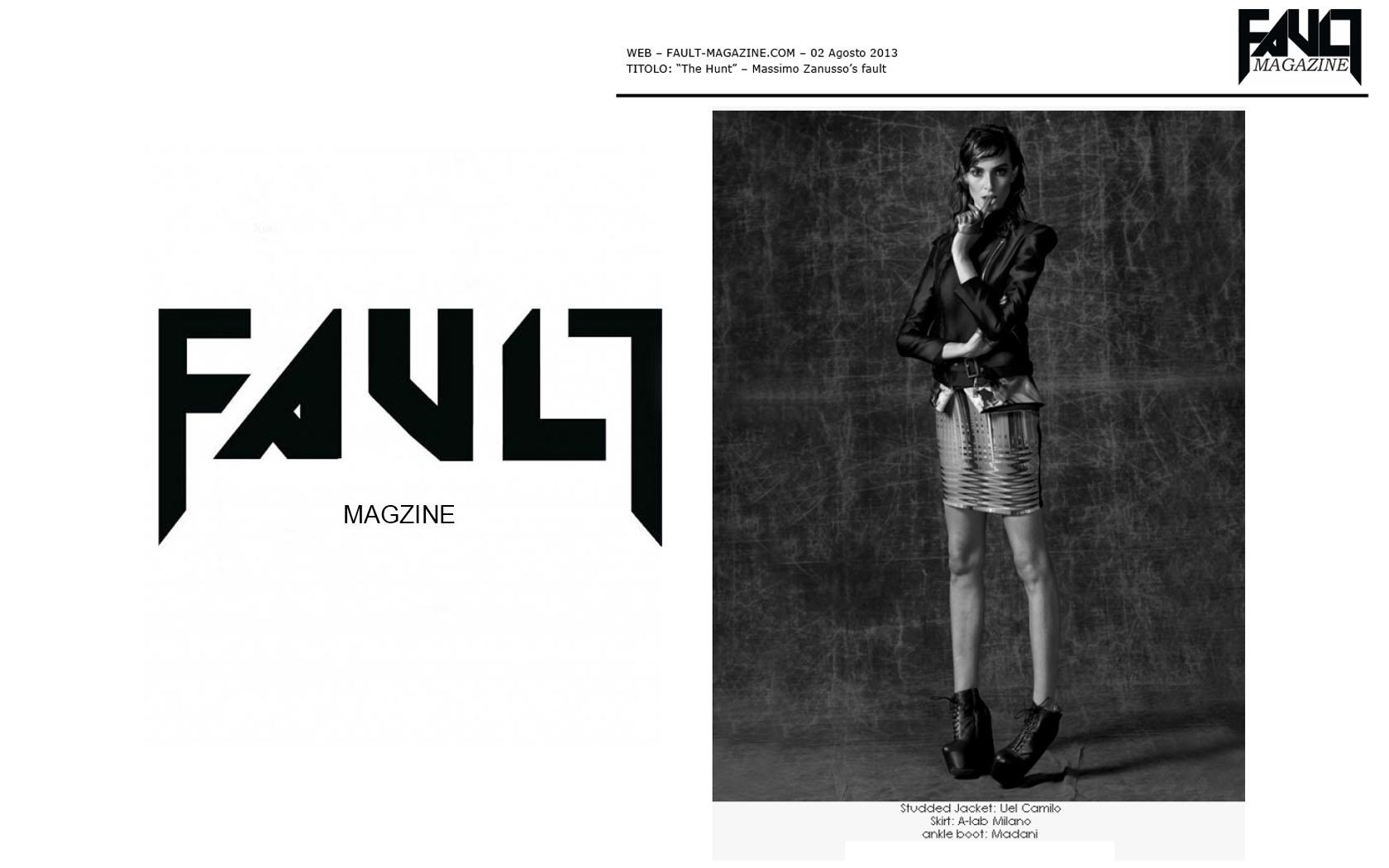 Uel camilo @Fault Magzine