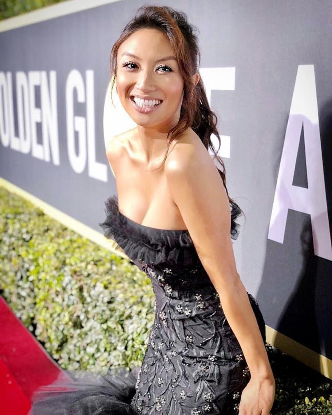US TV presenter JEANNIE MAI