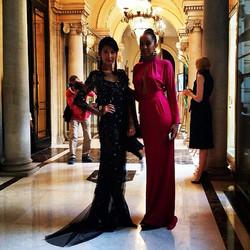 Beautiful UEL CAMILO gowns @Paris