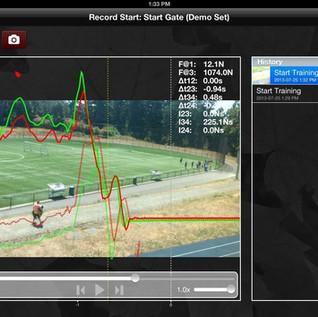 Motus iOS Sports App
