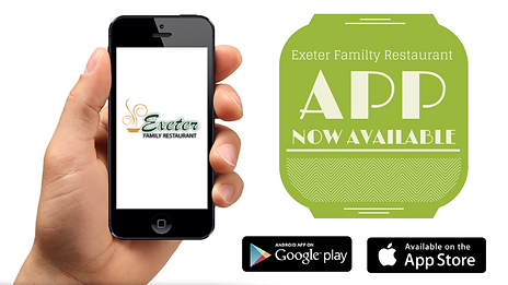 Exeter Family Restaurant IPhone & Android App