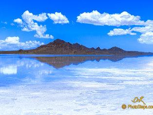 Salf Flats Reflection