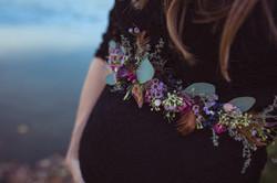 detailliert schönes Babybauchband - Bild