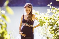 Babybauchband - Bild Stefanie Anderson