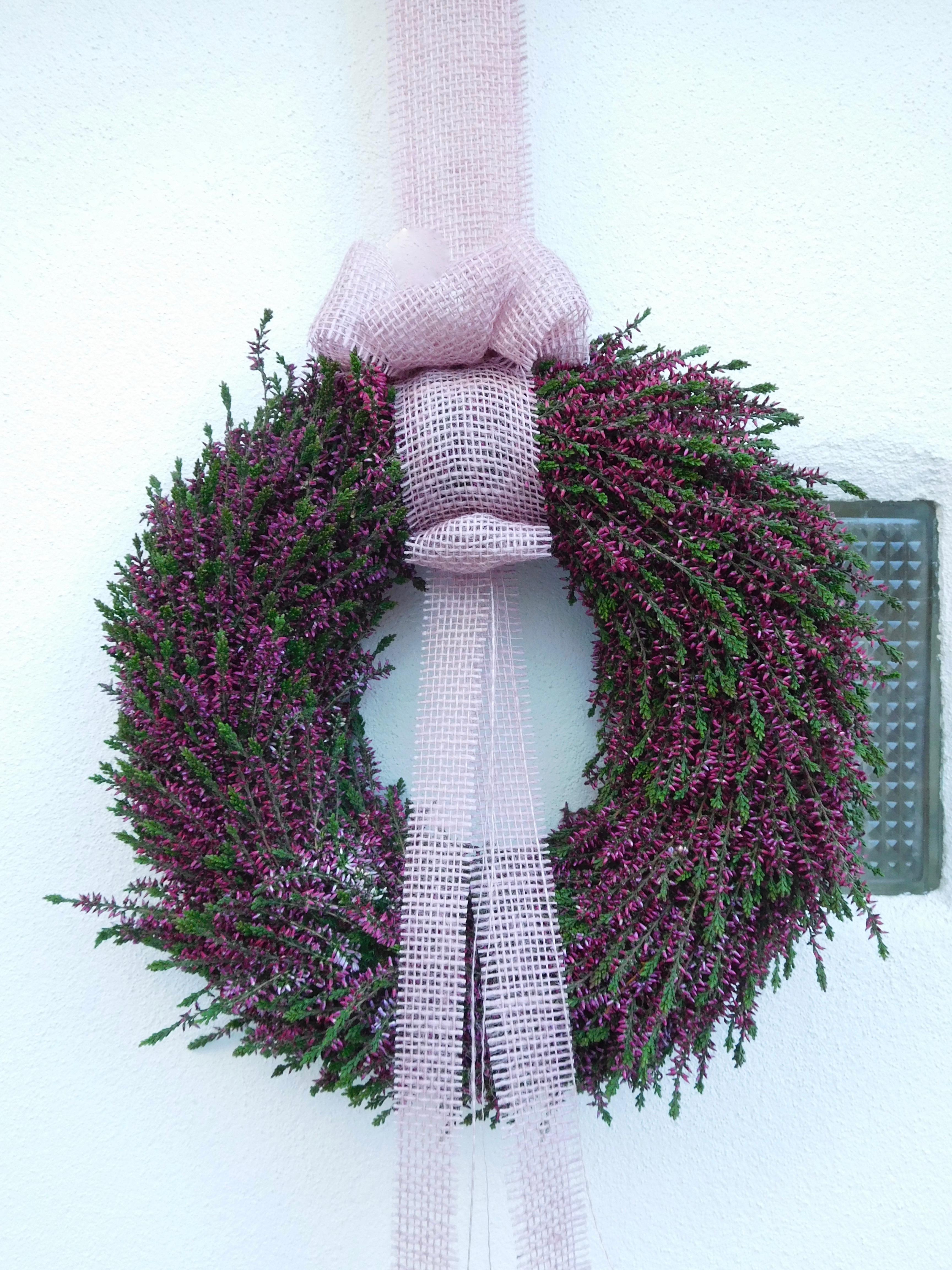 Türkranz aus Erikapflanzen