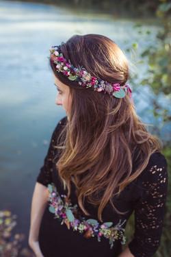 detailliert schöner Haarkranz - Bild Ste