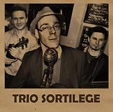 Trio Sortilège violon Olivier Leclerc Musique franco-québecoise