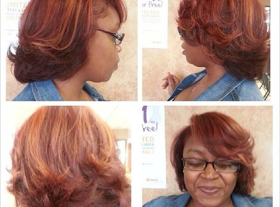 Copper Red Blonde