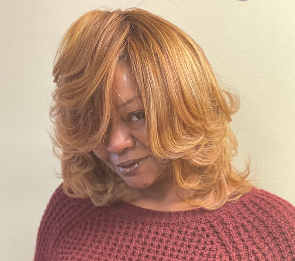 Sassy Copper Blonde