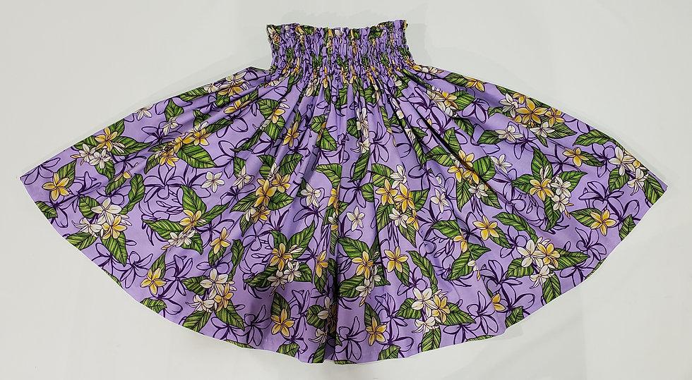 Purple Plumeria Pa'u