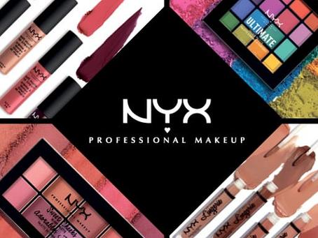 Make completa com produtos Nyx.