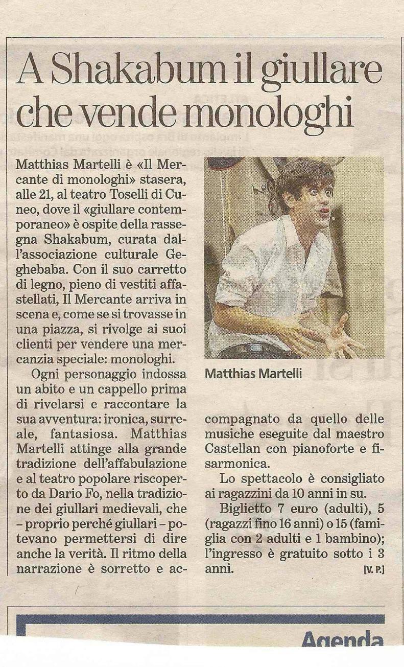 La Stampa - 28/02/15