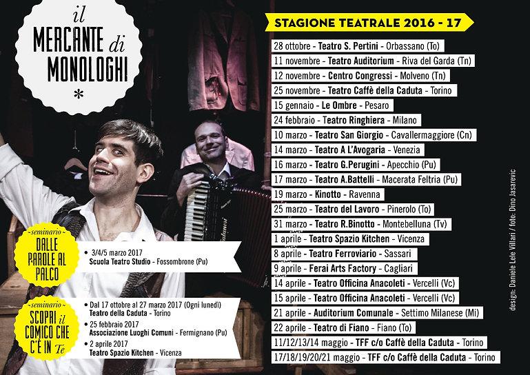"""L'attore Matthias Martelli nello spettacolo """"Il Mercante di Monologhi"""" al Festival Antiche Musra di Cittadella (Pd)"""