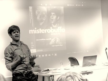 Matthias Martelli all'Università Statale di Milano