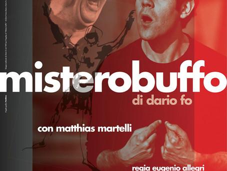 Mistero Buffo debutta a Follonica (Gr) il 13 e 14 ottobre!