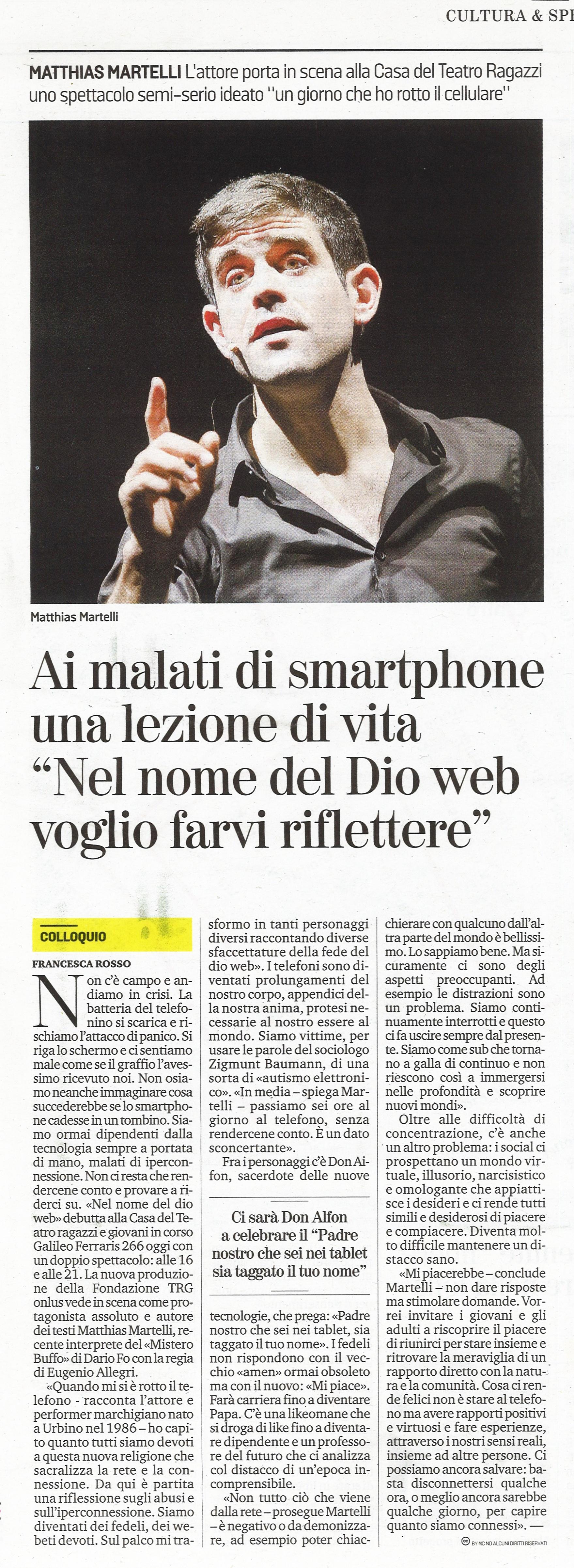 La Stampa, 1-3-2019