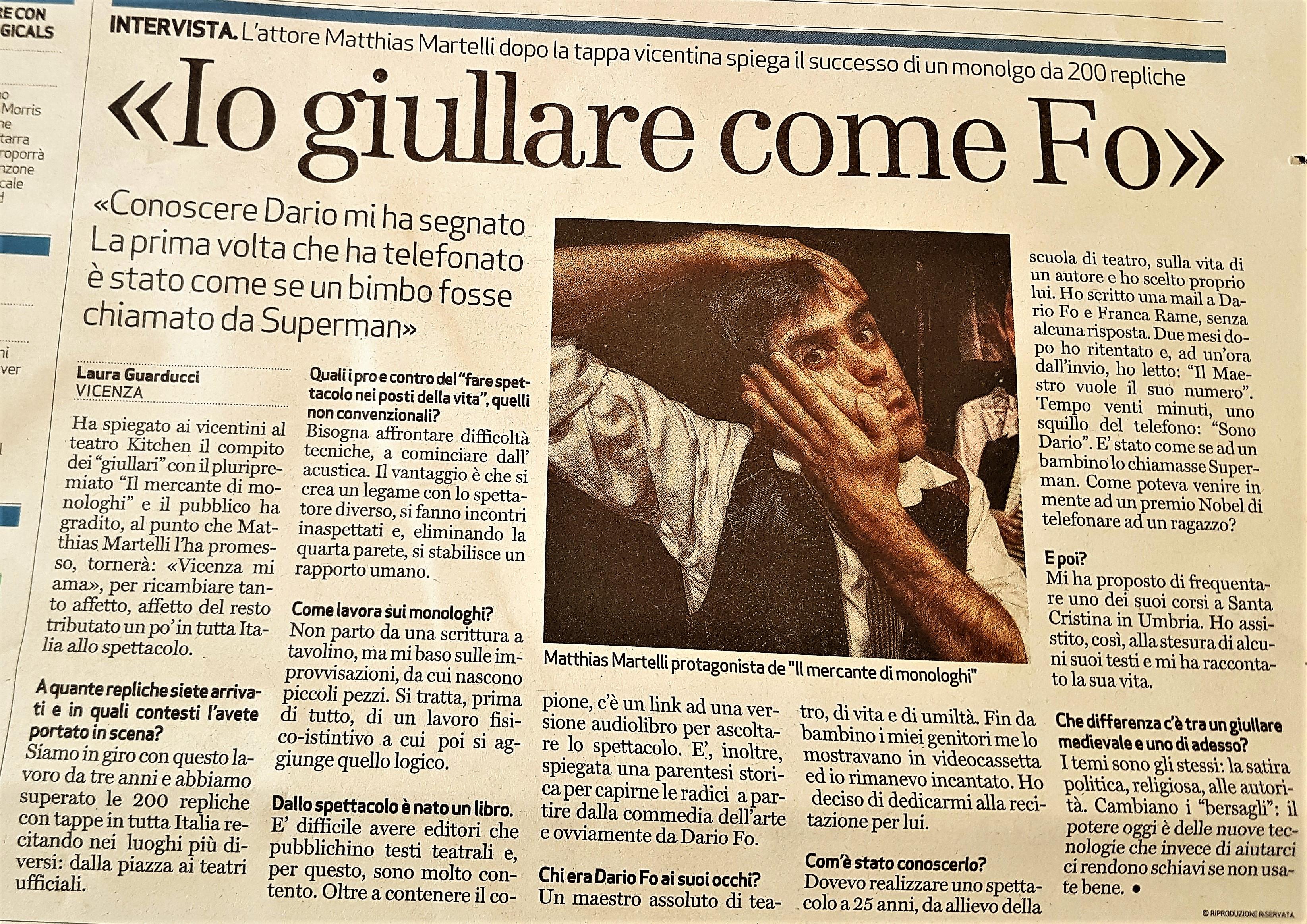 Il Giornale di Vicenza - 14/4/17