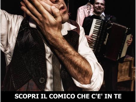 """""""Scopri il Comico che c'è in te"""" a Fermignano (Pu) il 25 febbraio"""