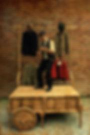"""Matthias Martelli ne """"Il Mercante di Monologhi"""", prodotto dal Teatro della Caduta di Torino"""