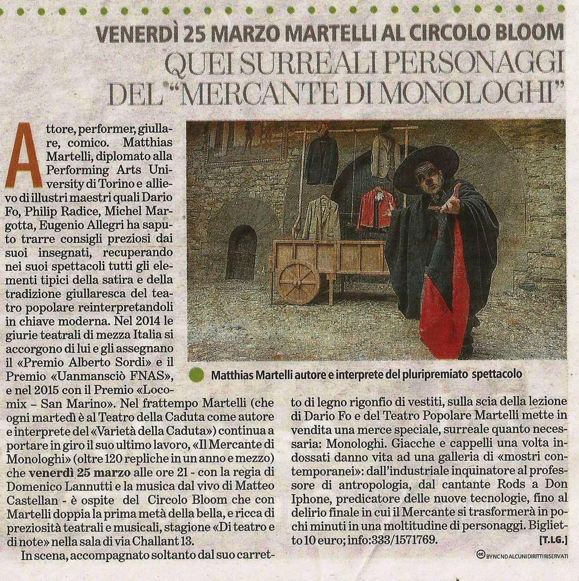 La Stampa - 24/03/16