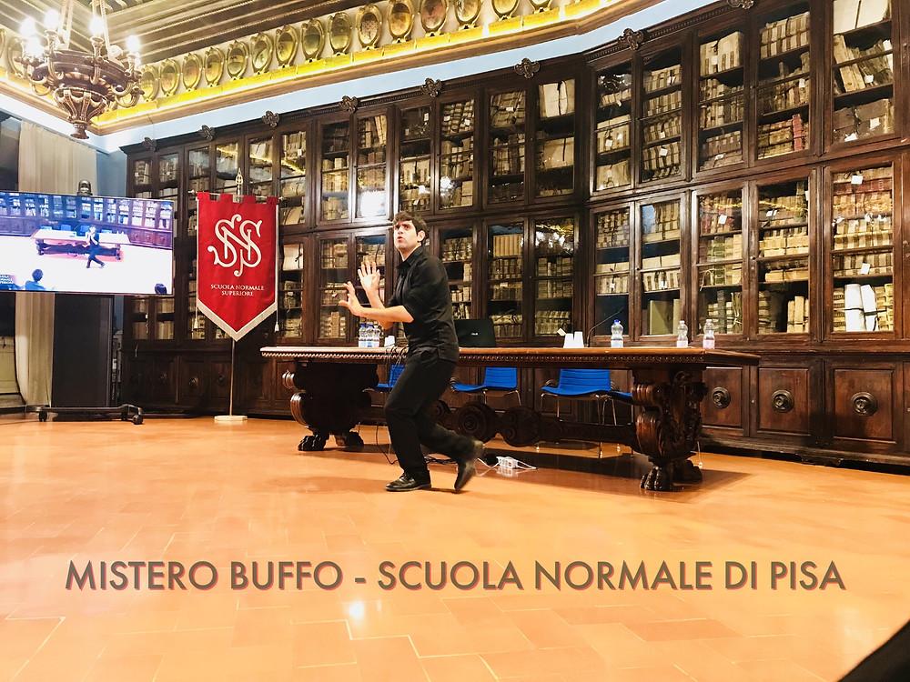 Matthias Martelli - Mistero Buffo - Scuola Normale di Pisa