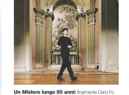 """""""Finalmente Dario Fo ha un erede"""" - D di Repubblica"""