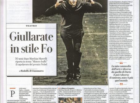 Mistero Buffo su Repubblica