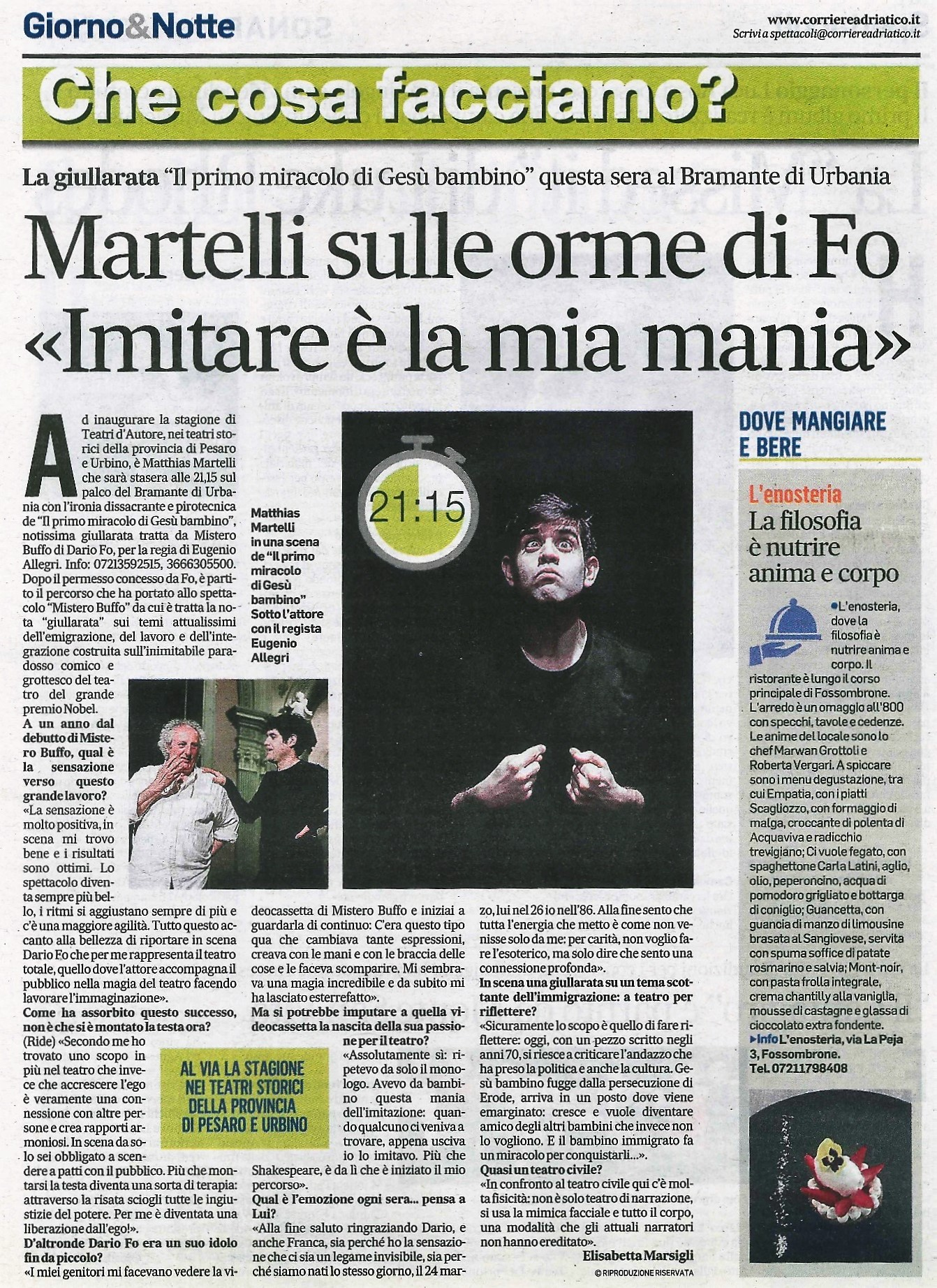Corriere A., 9-01-19