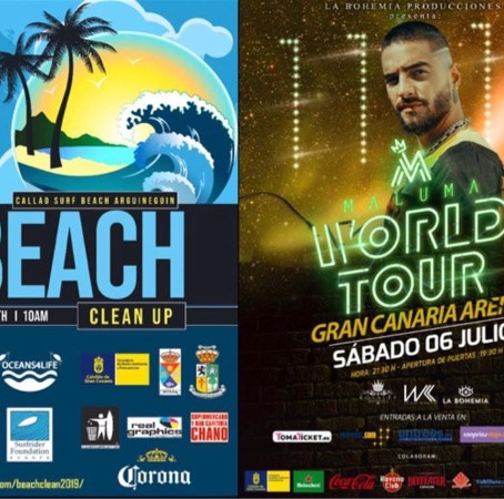Next beach clean   Beach Clean Up and Party  with Surf Canarias and Tipsy Hammock  Sunday 30 June