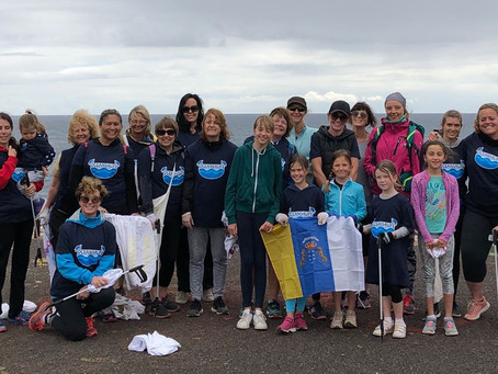 """First ever """"Plogging""""event with Oceans4Life in Gran Canaria"""