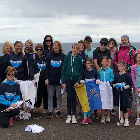 "First ever ""Plogging""event with Oceans4Life in Gran Canaria"