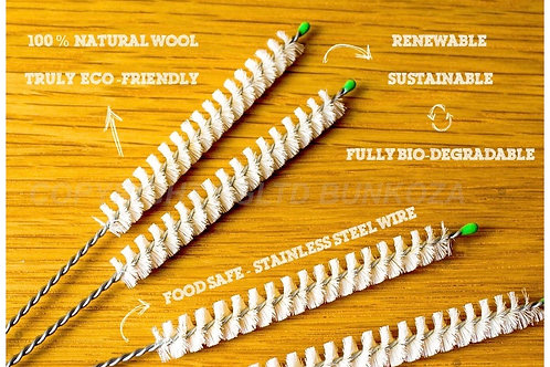 Eco Wool Straw Cleaner