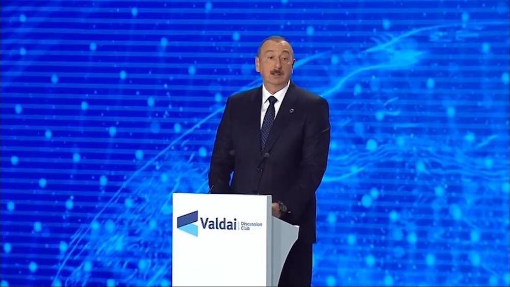Выступление Президента Азербайджана на Саммите Валдай