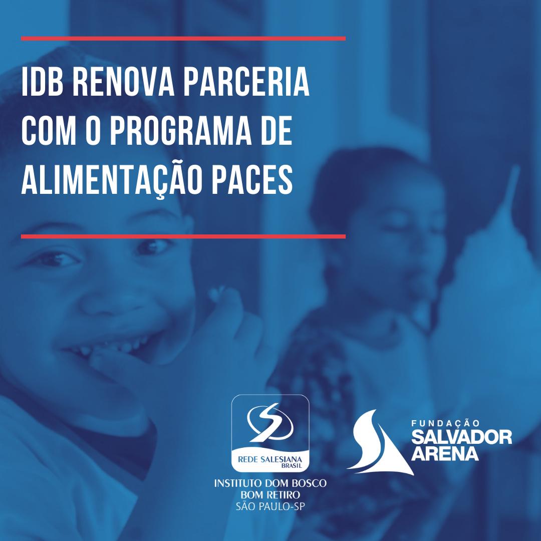 IDB renova parceria