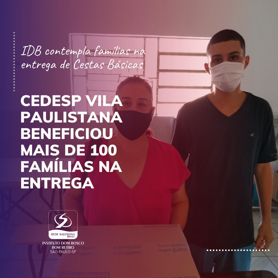 IDB contempla famílias na entrega de Cestas Básicas